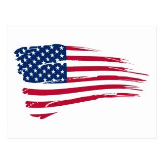American Flag Postcard