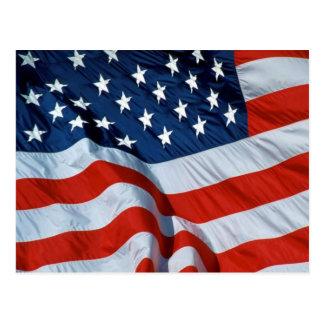 American flag postcard 2