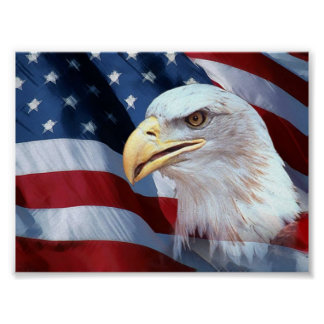 American flag poster 2