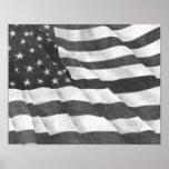 American Flag Poster Art