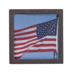 American Flag Premium Keepsake Box