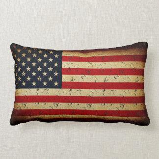 American Flag Pride Lumbar Pillow