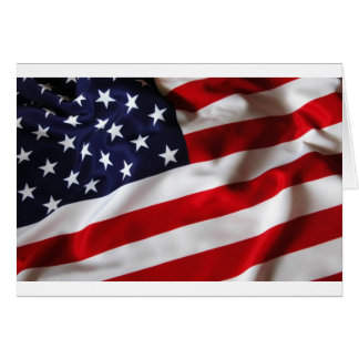 American Flag Products Greeting Card