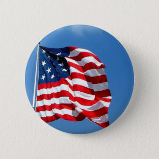 American Flag products Pinback Button
