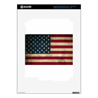 American Flag Red White And Blue Flag Skins For iPad 3
