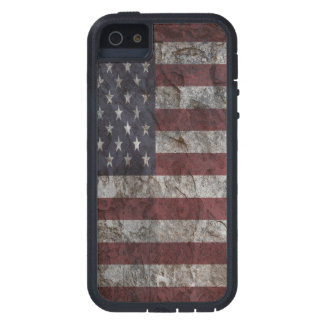 American Flag Rock Wall Xtreme iPhone 5 Case