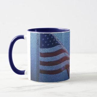 American Flag!  Rockets red glare! Mug