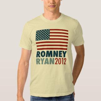 American Flag Romney-Ryan 2012 Tee Shirt