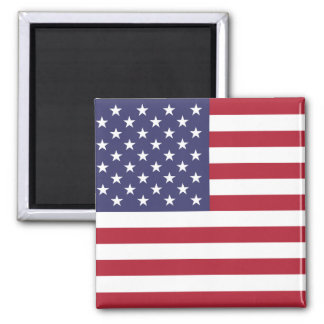 American Flag Round Magnet
