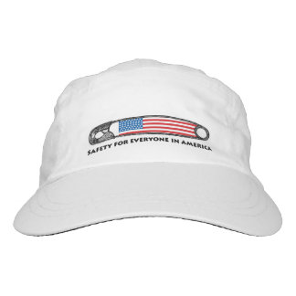 American Flag Safety Pin Hat