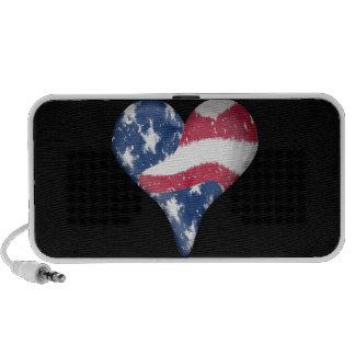 American Flag Scribble Speaker