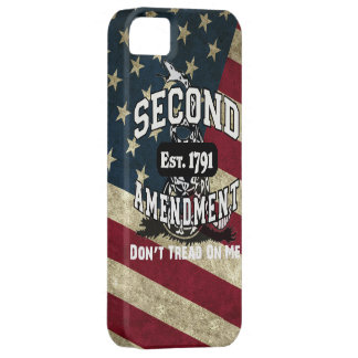 American Flag Second Amendment Don't Tread on Me iPhone 5 Case