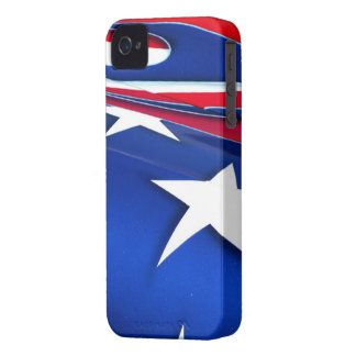 American Flag Shine BlackBerry Bold Case-Mate Bare iPhone 4 Cover