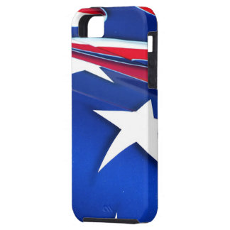 American Flag Shine iPhone 5 Case-Mate Tough iPhone SE/5/5s Case