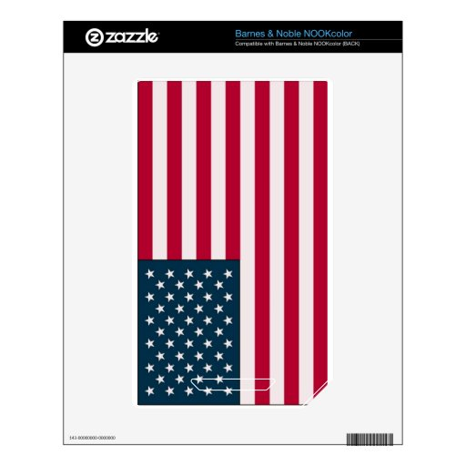 American flag skin for the NOOK color