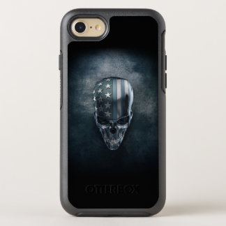 American Flag Skull OtterBox iPhone 7 Case