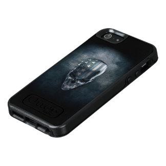 American Flag Skull OtterBox iPhone SE Case