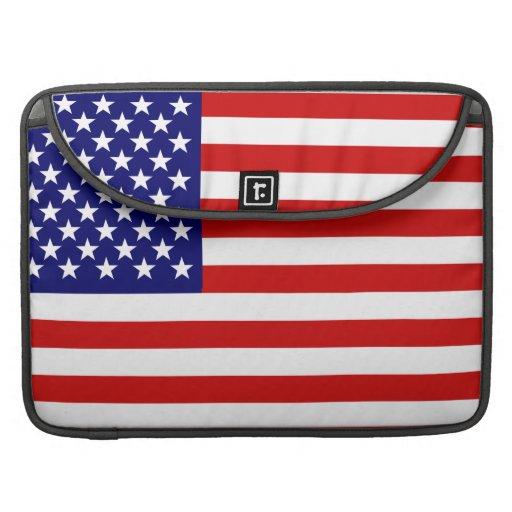 American flag sleeves for MacBooks