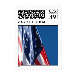 American Flag Small Stamp