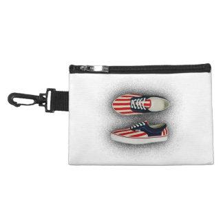 American Flag Sneakers Tile Accessories Bags