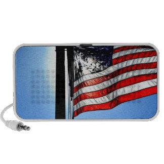 American Flag Travelling Speakers