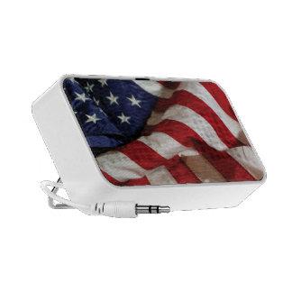 American Flag Speakers
