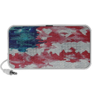American Flag Laptop Speakers