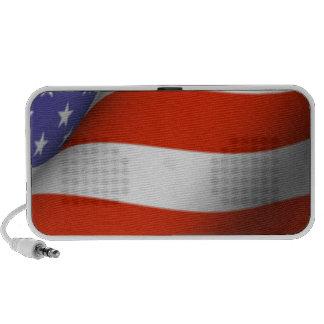 American Flag iPod Speakers