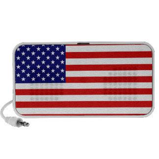 American Flag Speaker System