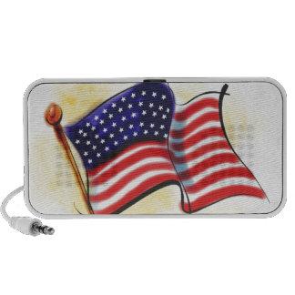 american flag iPhone speakers