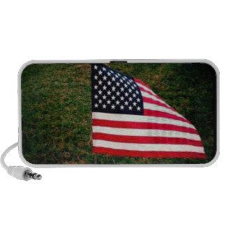 American Flag Laptop Speaker