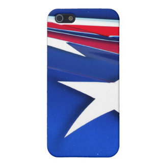 American Flag Speck Fitted Fabric-Inlaid Hard Shel Cover For iPhone SE/5/5s