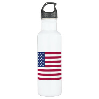 American Flag Stainless Steel Water Bottle
