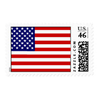 American flag stamp