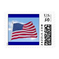 American Flag Stamp  #2