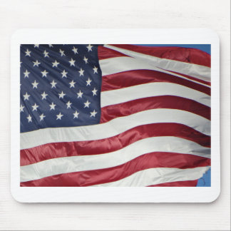American Flag,Star Spangled Banner red white blue Mouse Pad