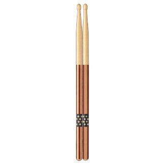 American Flag Stars and Stripes Drumsticks