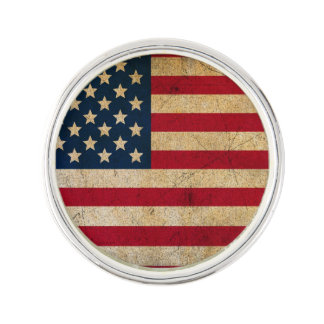 American Flag Stars And Stripes Lapel Pin