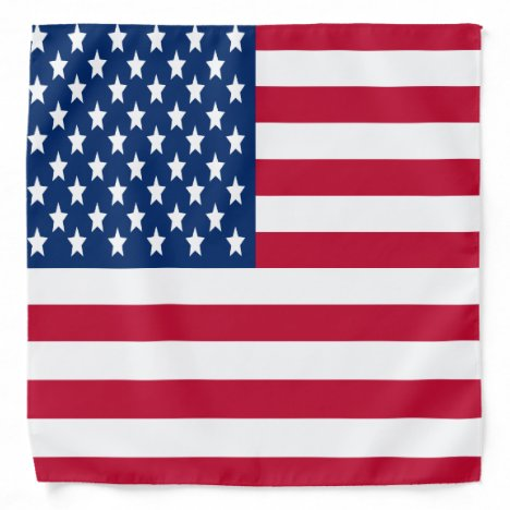 American Flag Stars and Stripes National Symbol Bandana