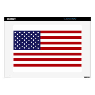 American Flag - Stars and Stripes - Old Glory Laptop Decal
