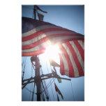American flag stationery