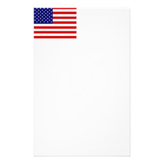 American Flag Stationery Paper