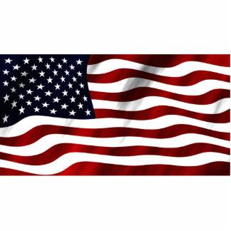 American Flag Statuette
