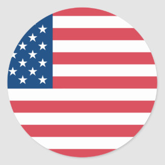 American Flag Stickers