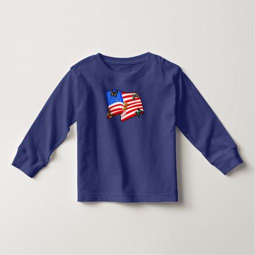 American Flag T-Shirt - Customized
