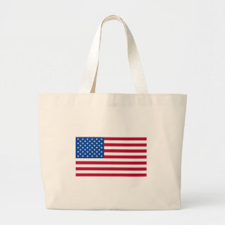 American Flag T shirts and Gifts Large Tote Bag