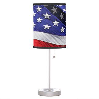 American Flag Table Lamp