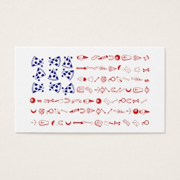American flag tattoo funny pizza business card