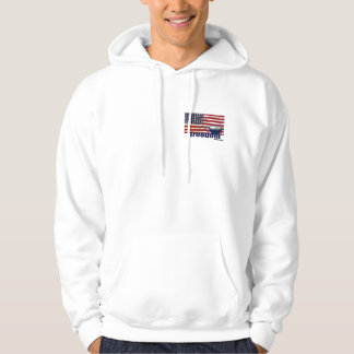 American Flag Tea Party Hoodie