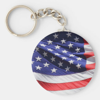 American-flag-Template Keychain